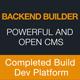 Backend Builder - DIY CMS