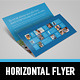 Metro Horizontal Tri-fold Flyer - GraphicRiver Item for Sale