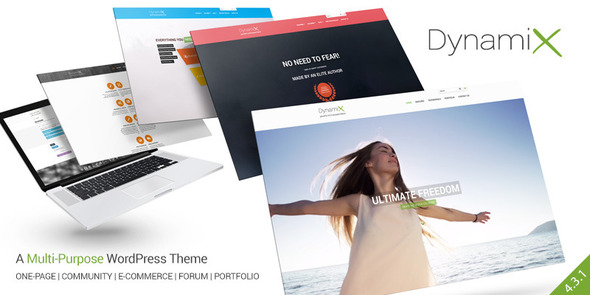 DynamiX – Business / Corporate WordPress Theme