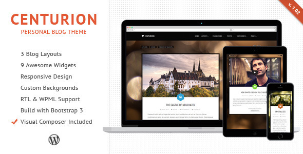 Centurion – WordPress Blog Theme