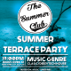 Summer Terrace party - GraphicRiver Item for Sale