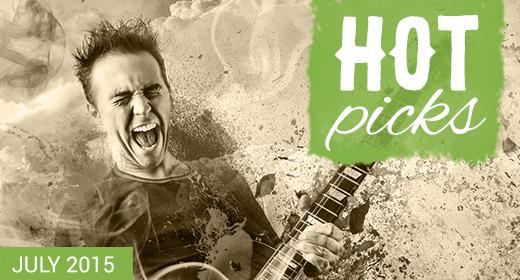 AJ Hot Picks - July 2015