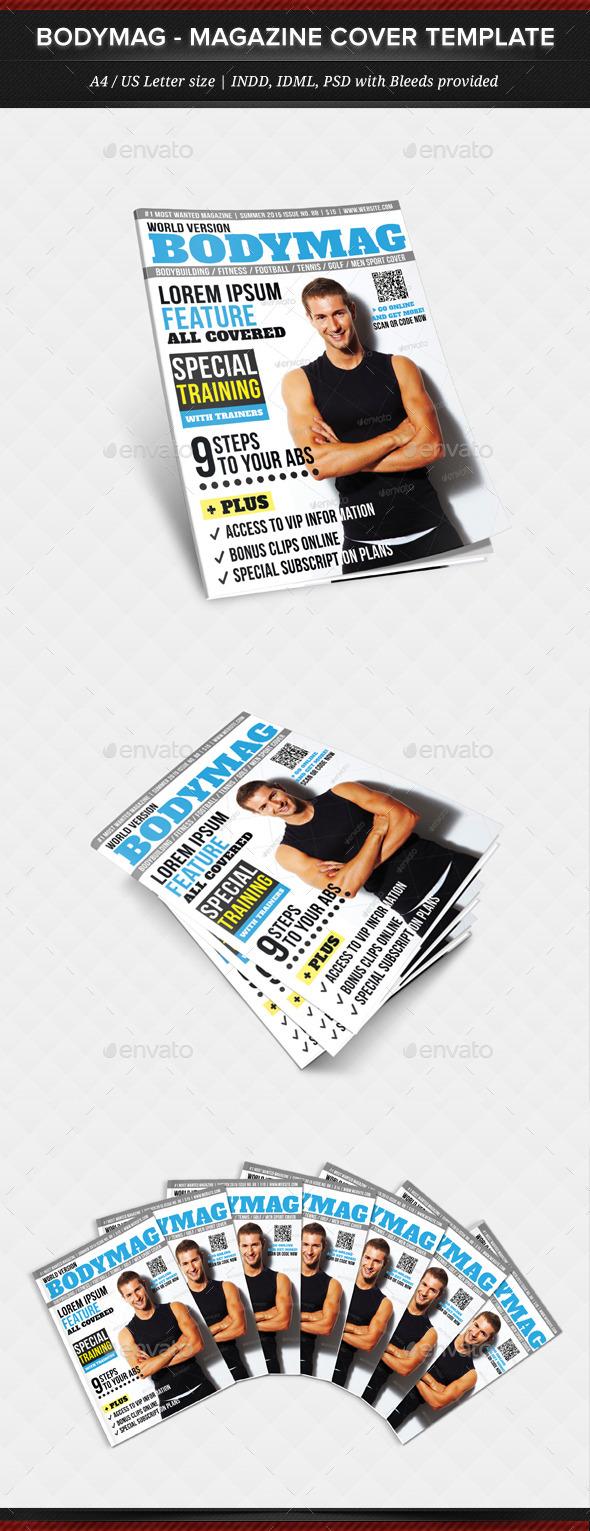 BodyMag - Multipurpose Magazine Cover Template - Magazines Print Templates