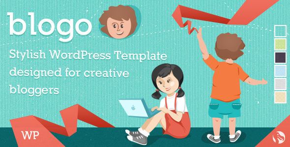Blogo – Responsive WP Theme for Creative Bloggers