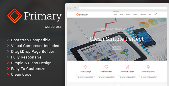 Primary – Business WordPress Theme