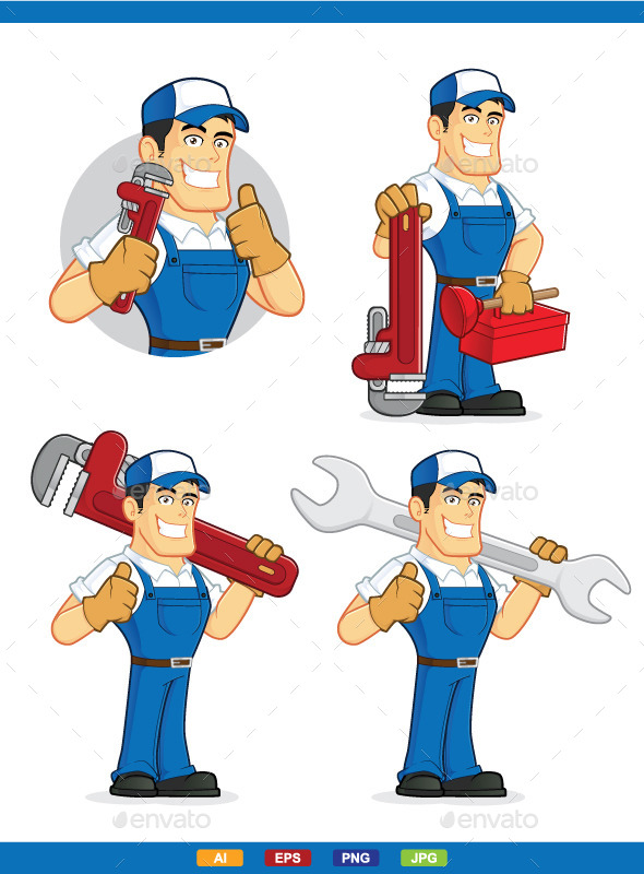 Plumber - People Characters
