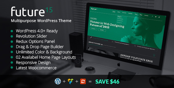 Future15 – Multipurpose WordPress Theme