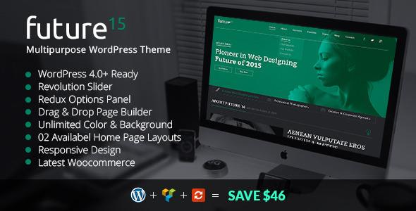Future15 - Multipurpose WordPress Theme