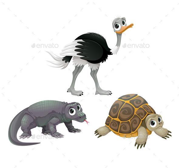 Funny Australian Animals. - Animals Characters
