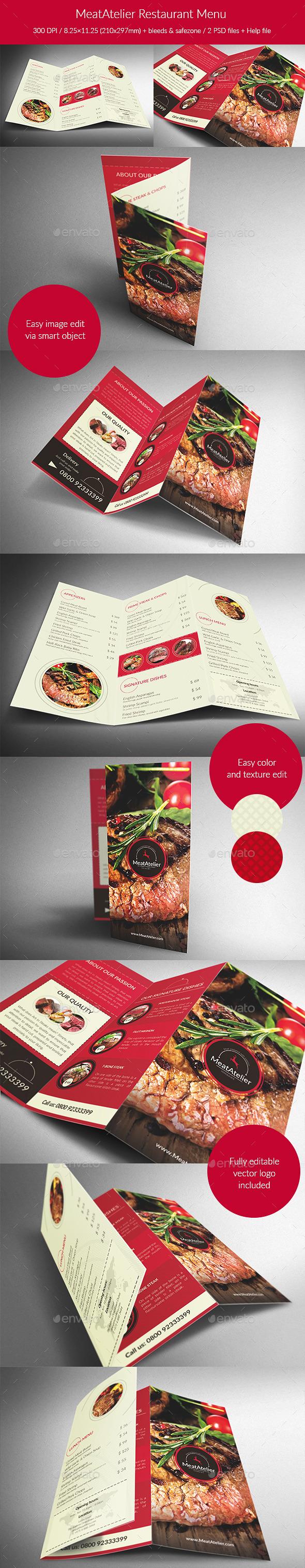 MeatAtelier Restaurant Menu