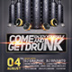 Get Drunk Flyer Template - GraphicRiver Item for Sale
