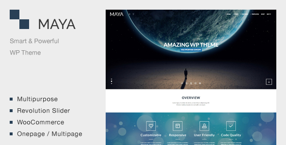 Maya – Smart & Powerful WP Theme