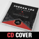 DJ Music Hexagon CD Cover Template - GraphicRiver Item for Sale