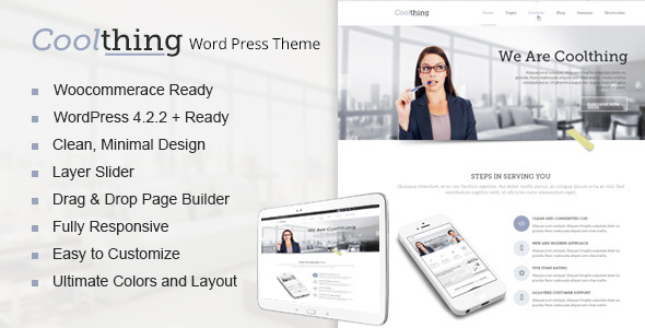 Coolthing – Multi-Purpose WordPress Theme