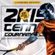 2K15 Tennis Tournament Sports Flyer