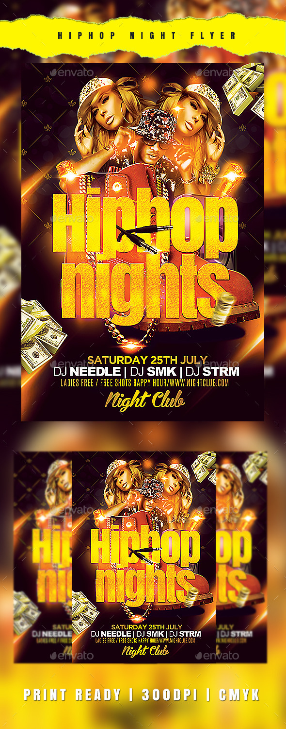 Hiphop Nights - Clubs & Parties Events