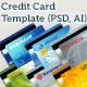 Credit Card Template - GraphicRiver Item for Sale