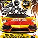 Spring Break Car Show Flyer - GraphicRiver Item for Sale