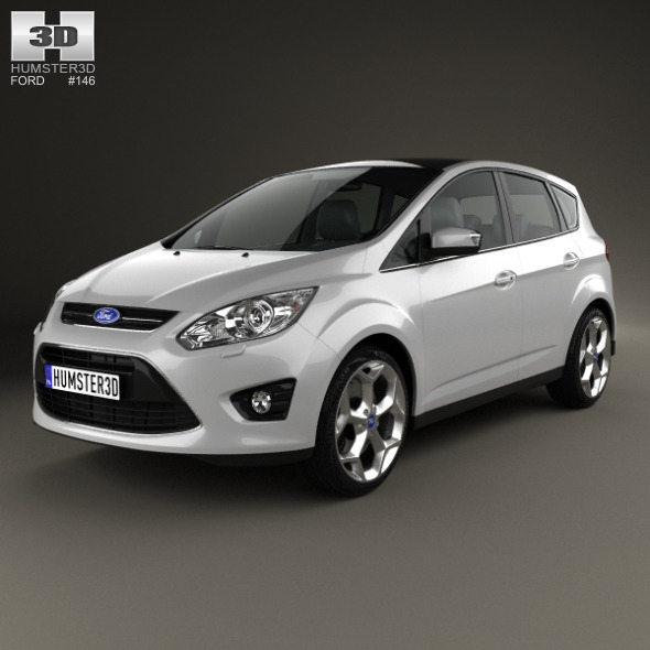 Ford C-MAX 2010 - 3DOcean Item for Sale