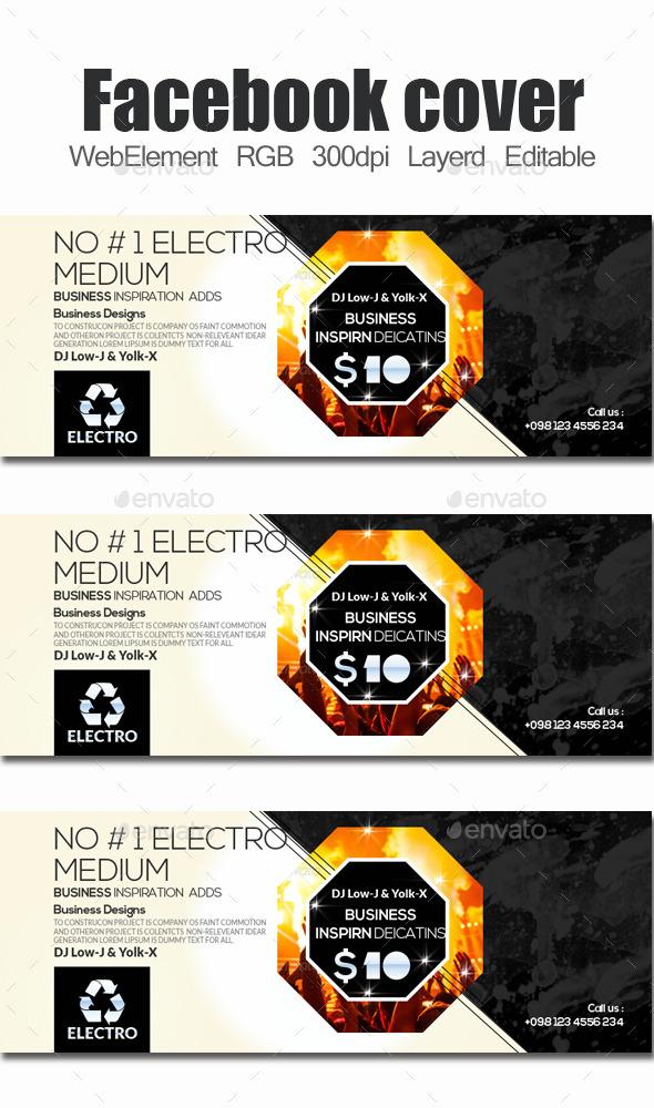 Electro & Futuristic Facebook Timeline - Facebook Timeline Covers Social Media