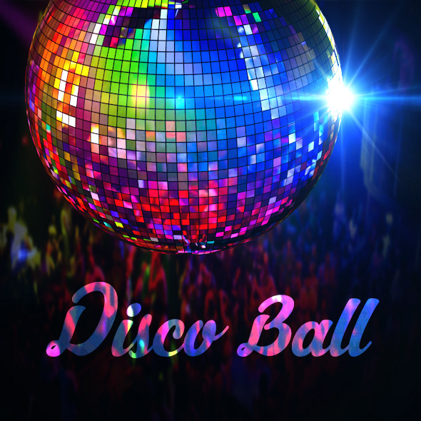 Realistic Disco Ball - 3DOcean Item for Sale