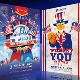 4th of July - Flyer Bundle - GraphicRiver Item for Sale