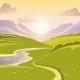 Mountain Landscape Background - GraphicRiver Item for Sale