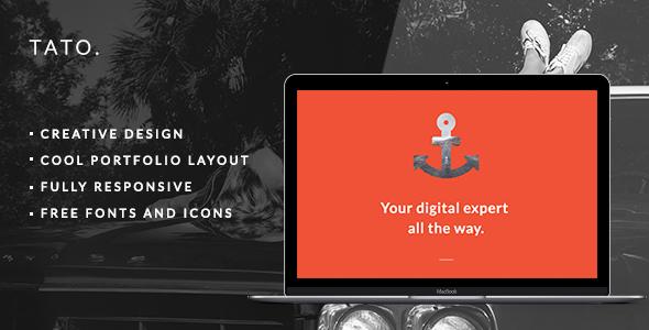 TATO – Portfolio & Agency Theme