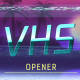 VHS Opener (Retro Future Style) - VideoHive Item for Sale