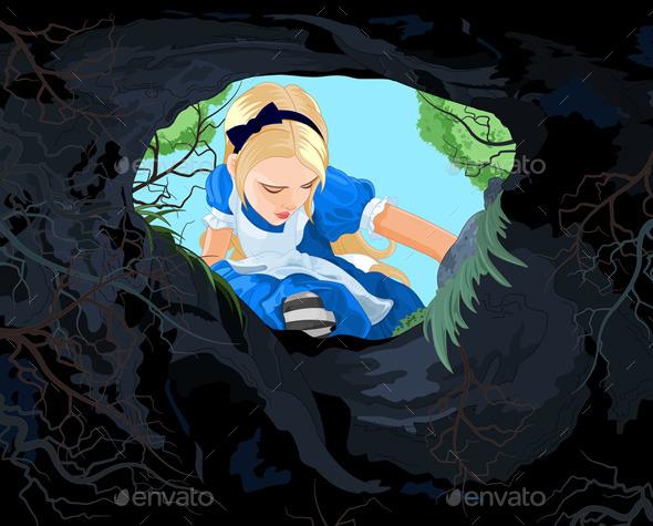 Wonderland Alice - People Characters