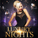 Luxury Nights Party Flyer - GraphicRiver Item for Sale