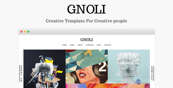 Portfolio WordPress Theme – Gnoli