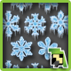 Frozen Snowflakes - GraphicRiver Item for Sale