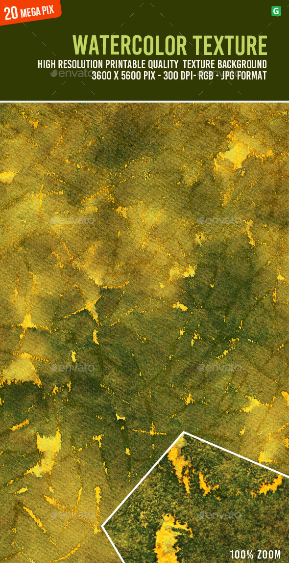 Watercolor Texture 130 - Art Textures
