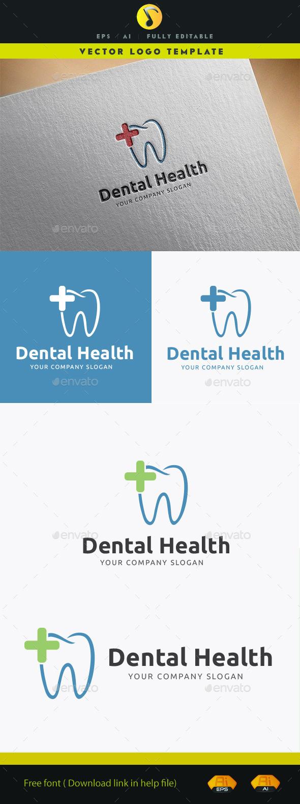 Dental Health - Symbols Logo Templates