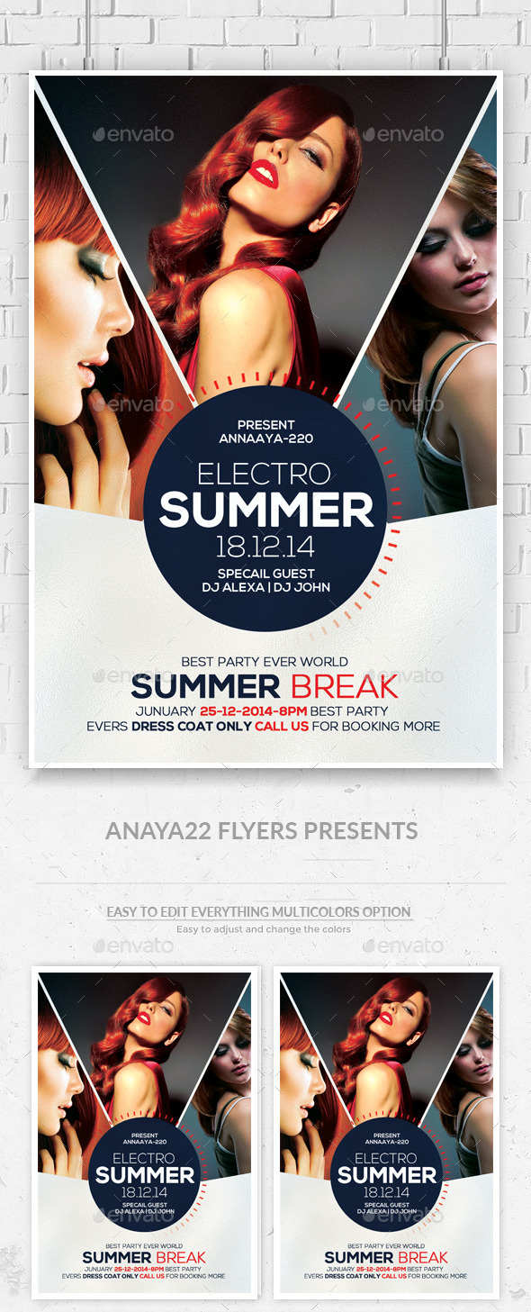 Ladies Night Out Flyer Template - Clubs & Parties Events