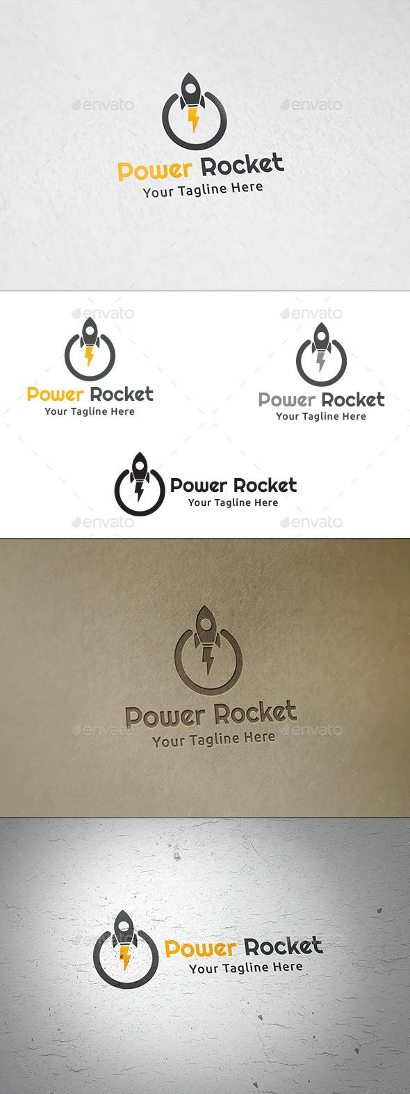 Power Rocket - Logo Template - Symbols Logo Templates