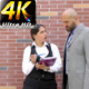 Business Man and Woman Teamwork Talking Concept 6 - VideoHive Item for Sale