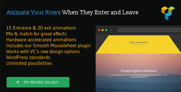 Row Scroll Animations for Visual Composer - CodeCanyon Item for Sale