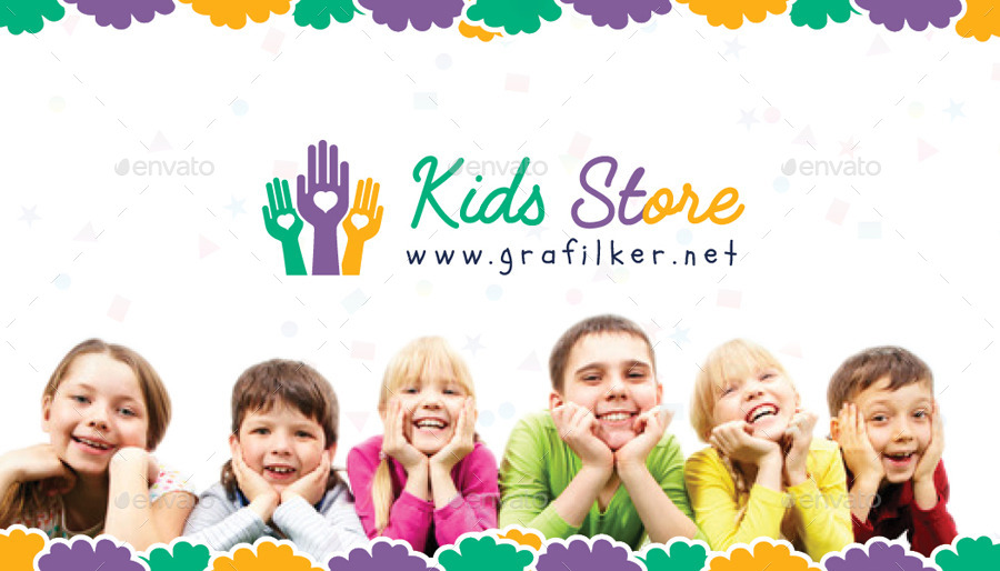 kids store business card templates corporate business cards 01_business_card_preview01_business_cardjpg - Kids Business Cards