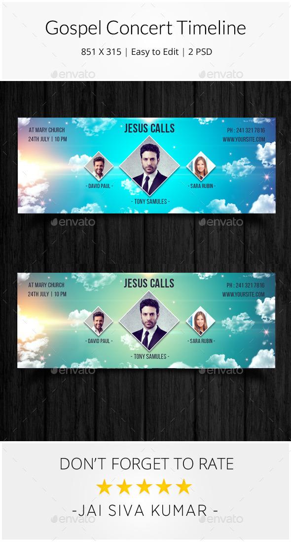 Gospel Concert Timeline  - Facebook Timeline Covers Social Media