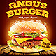 Hamburger Advertise Posters - GraphicRiver Item for Sale