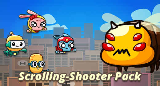 Scrolling Shooter Pack