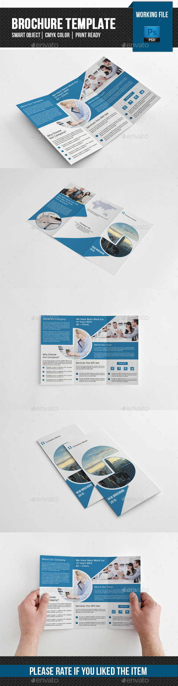 Corporate Trifold Brochure-V239 - Corporate Brochures