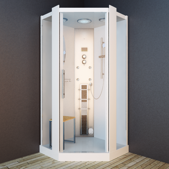Vip Shower room Koy 23 - 3DOcean Item for Sale