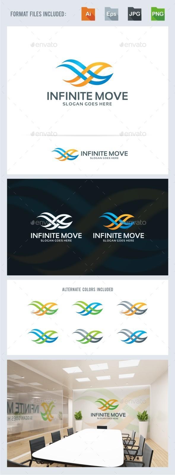 Infinite Move - Symbols Logo Templates