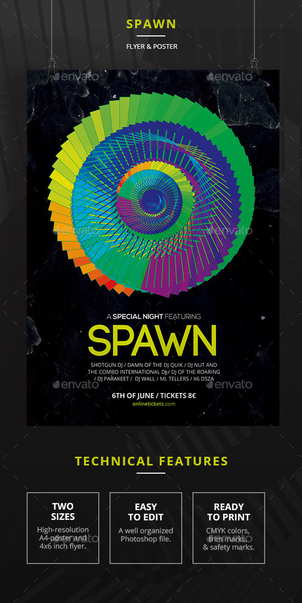 Spawn - Clubs & Parties Events