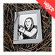 Photo Frame on Haistack Mock Up - GraphicRiver Item for Sale