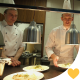 The Chef Puts on the Table Prepared Meal - VideoHive Item for Sale
