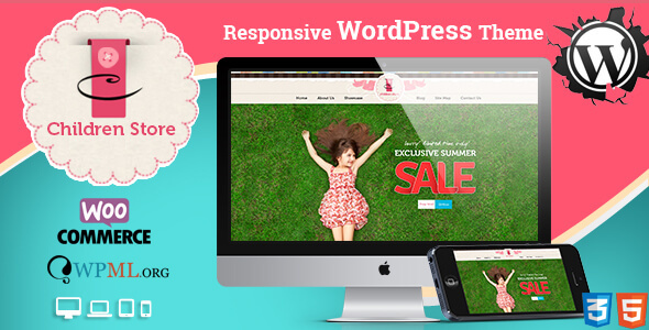 Download Children Store Responsive WordPress Theme nulled version